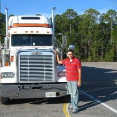 Truck Driving School Graduate Brian Bushong: May 2009