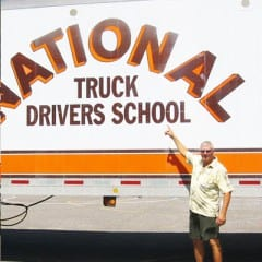 Truck Driving School Graduate Kevin Bathrick: October 2008