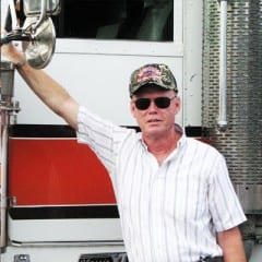 Truck Driving School Graduate Clyde Geist: September 2008