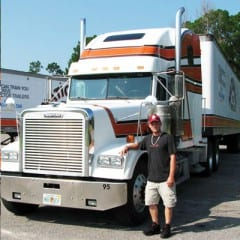 Truck Driving School Graduate Brandon NeSmith: July 2008