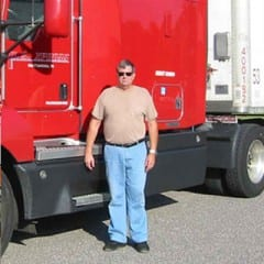 Truck Driving School Graduate Warren Matthews: September 2007