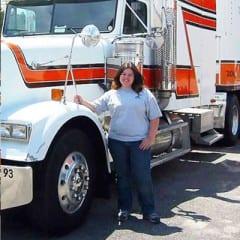 Truck Driving School Graduate Sandy Repsher: April 2007