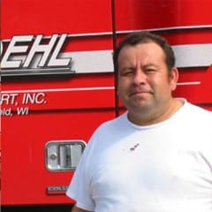 Truck Driving School Graduate Gerald Rael: July 2006