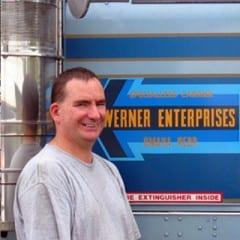 Truck Driving School Graduate Brian Derby: January 2006