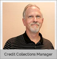 Reese Zimmerman, Credit Collections Manager of CDL school and Earth Movers school