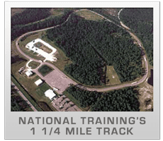 CDL Training Grounds from Above